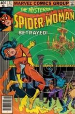 Spider-Woman (1978-1983) #23 Variant A: Newsstand Edition