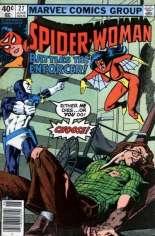 Spider-Woman (1978-1983) #27 Variant A: Newsstand Edition