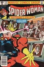Spider-Woman (1978-1983) #33 Variant A: Newsstand Edition