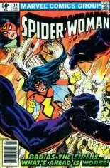 Spider-Woman (1978-1983) #34 Variant A: Newsstand Edition