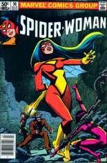 Spider-Woman (1978-1983) #36 Variant A: Newsstand Edition