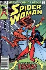 Spider-Woman (1978-1983) #49 Variant A: Newsstand Edition