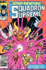 Squadron Supreme (1985-1986) #1 Variant A: Newsstand Edition