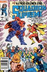 Squadron Supreme (1985-1986) #2 Variant A: Newsstand Edition