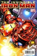 Invincible Iron Man (2008-2012) #1 Variant B
