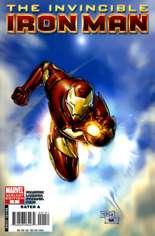 Invincible Iron Man (2008-2012) #1 Variant D: 1:25 Variant