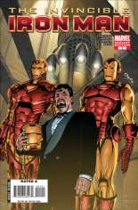 Invincible Iron Man (2008-2012) #1 Variant E: 1:25 Variant