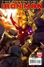 Invincible Iron Man (2008-2012) #1 Variant F: 1:25 Variant