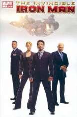 Invincible Iron Man (2008-2012) #1 Variant G: 1:100 Secret Movie Cover