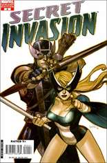 Secret Invasion (2008-2009) #2 Variant C: 1:50 Variant