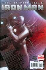 Invincible Iron Man (2008-2012) #1 Variant I: 2nd Printing
