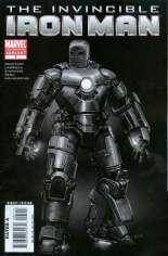 Invincible Iron Man (2008-2012) #1 Variant J: 2nd Printing