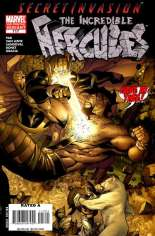Incredible Hercules (2008-2010) #117 Variant B: 2nd Printing