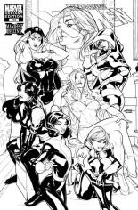 Uncanny X-Men (1963-2011) #500 Variant G: 1:200 Sketch Cover