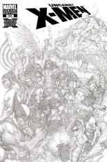 Uncanny X-Men (1963-2011) #500 Variant F: 1:200 Sketch Cover