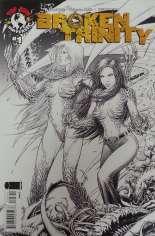 Broken Trinity (2008) #1 Variant C: Sketch Cover