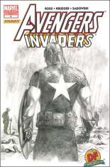 Avengers/Invaders (2008-2009) #4 Variant D: DF Sketch Cover