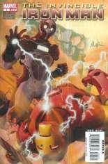 Invincible Iron Man (2008-2012) #4 Variant A