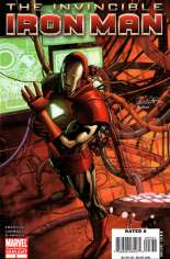Invincible Iron Man (2008-2012) #3 Variant C: 2nd Printing