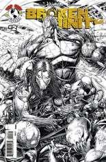 Broken Trinity (2008) #2 Variant C: Sketch Cover