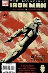 Invincible Iron Man (2008-2012) #6 Variant B