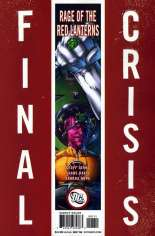 Final Crisis: Rage of the Red Lanterns #One-Shot  Variant B