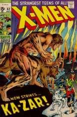 Uncanny X-Men (1963-2011) #62 Variant C: 1994 Marvel Vintage Pack Reprint