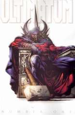 Ultimatum (2009) #1 Variant D: Magneto Retailer Incentive White Cover