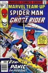 Marvel Team-Up (1972-1985) #58 Variant B: 35 Cent Variant