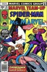 Marvel Team-Up (1972-1985) #62 Variant B: 35 Cent Variant