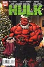 Hulk (2008-2012) #9 Variant D: Red Hulk Santa Cover