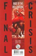 Final Crisis: Rage of the Red Lanterns #One-Shot  Variant C: 2nd Printing