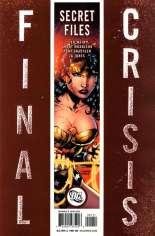 Final Crisis Secret Files #One-Shot  Variant B
