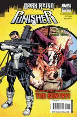Punisher (2009-2010) #1 Variant B: Norman Osborn Target Variant Cover