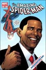Amazing Spider-Man (1999-2014) #583 Variant B: Obama Cover