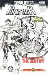 Punisher (2009-2010) #1 Variant C: Atomic Comics Sketch Exclusive