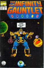 Infinity Gauntlet (1991) #4 Variant B: Direct Edition