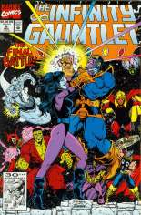 Infinity Gauntlet (1991) #6 Variant B: Direct Edition