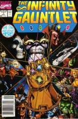 Infinity Gauntlet (1991) #1 Variant A: Newsstand Edition