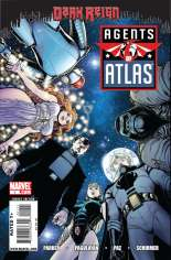Agents of Atlas (2009) #1 Variant A