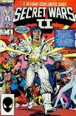 Secret Wars II (1985-1986) #6 Variant B: Direct Edition