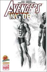 Avengers/Invaders (2008-2009) #6 Variant C: DF Sketch Cover