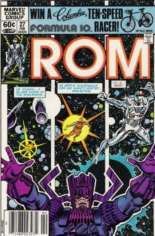 Rom (1979-1986) #27 Variant A: Newsstand Edition
