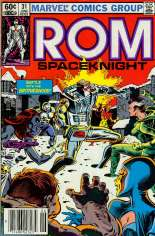 Rom (1979-1986) #31 Variant A: Newsstand Edition