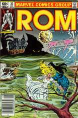 Rom (1979-1986) #33 Variant A: Newsstand Edition