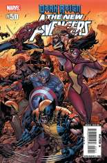 New Avengers (2005-2010) #50 Variant B: Direct Edition Wraparound Cover