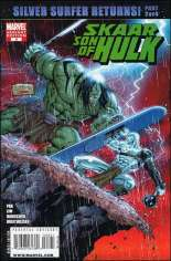 Skaar: Son of Hulk (2008-2009) #8 Variant B: 1:10 Variant