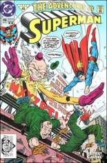 Adventures of Superman (1987-2006) #496 Variant B: 2nd Printing