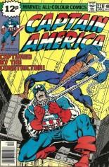 Captain America (1968-1996) #228 Variant C: UK Edition