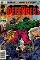 Defenders (1972-1986) #81 Variant A: Newsstand Edition